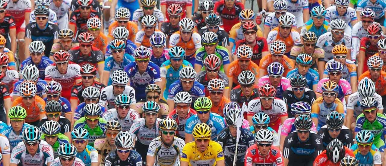 2010 Tour de France peloton