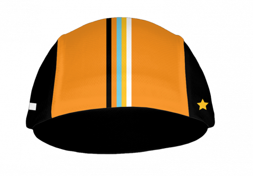 Front view showing the top of the bill of the 719 Ride cycling cap by Primal