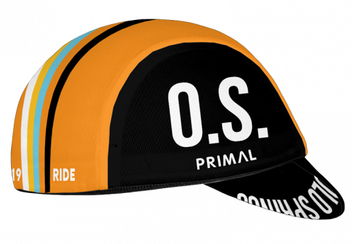 Right side view of the 719 Ride cycling cap by Primal