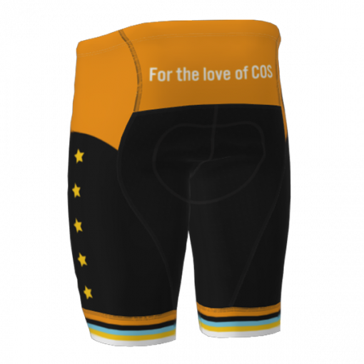 The back of the 719 Ride cycling shorts
