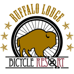 Buffalo Lodge Bicycle Resort logo