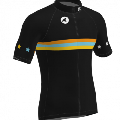 The front view of the DIY 719 cycling jersey