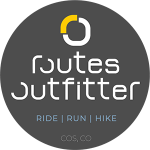Routes Outfitter sticker logo