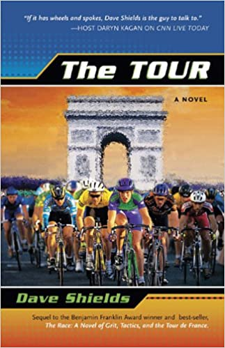 The book cover for The Tour by Dave Shields